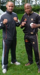 Master Lucien Corbin and Max Ferraiolo Holland, IBK summer camp.